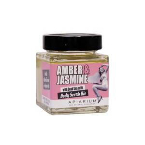 Βιολογικό Peeling σώματος Amber & Jasmine 410gr Apiarium