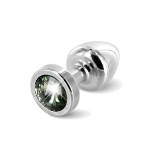 Anni Plug Silver/Black 5.50cm by Diogol