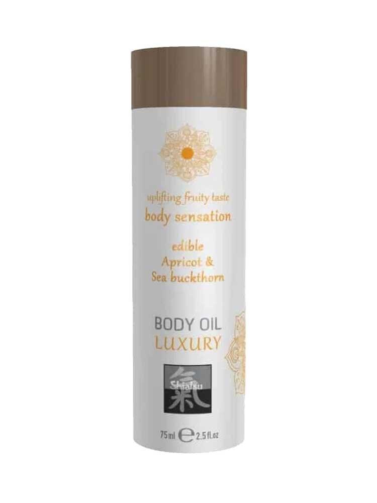 Apricot & Sea Buckthorn Edible Luxury Body Oil 75ml by Shiatsu