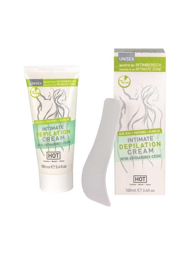 Intimate Depilation Cream 100ml by HOT Austria