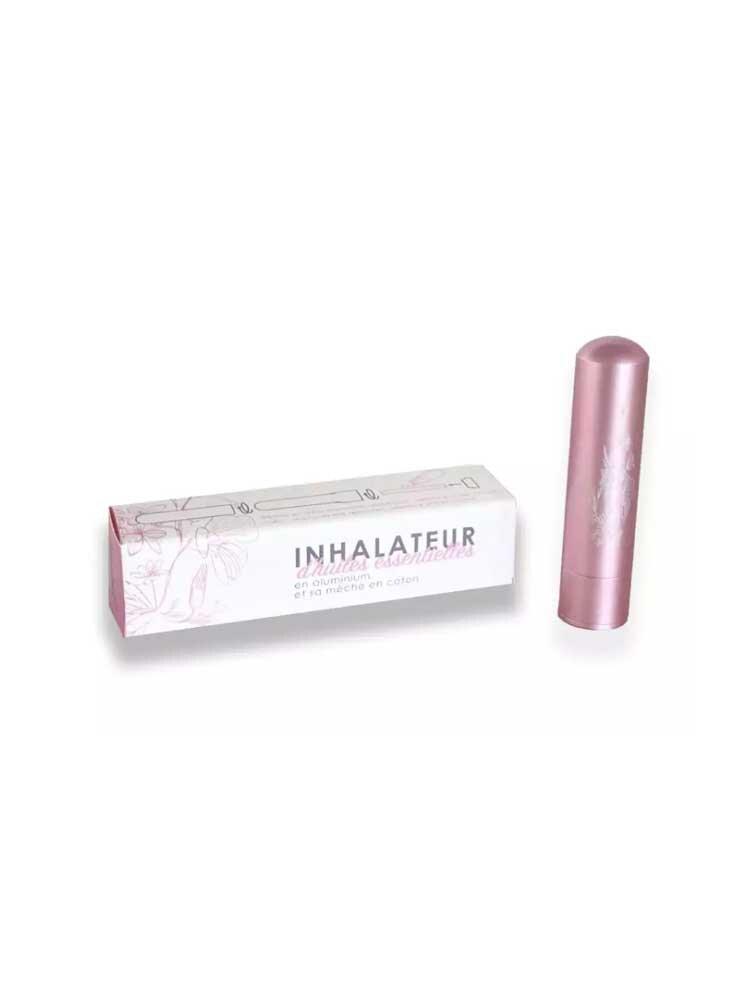 Inalia Εισπνευστήρας Αιθέριου Ελαίου Ροζ - Essential oil Inhaler Innobiz