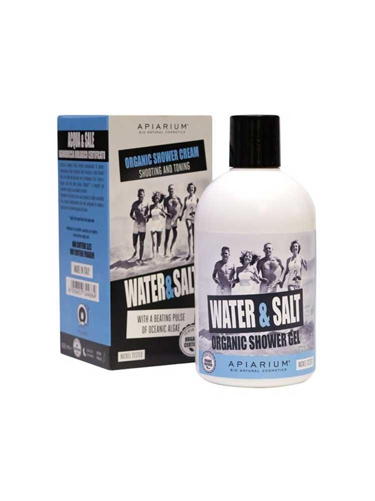 Βιολογικό Αρωματικό αφρόλουτρο Water & Salt 300ml by Apiarium