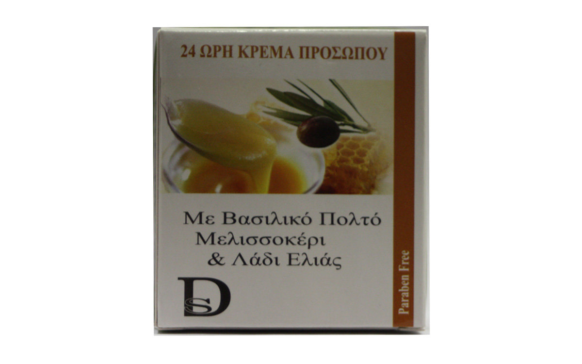 24ωρη Κρέμα με Βασιλικό Πολτό DisoLine Elixirio