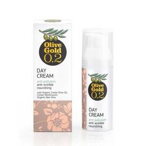 Ενυδατική & Αντιγηραντική Κρέμα Ημέρας 50ml Olive Gold 0.2