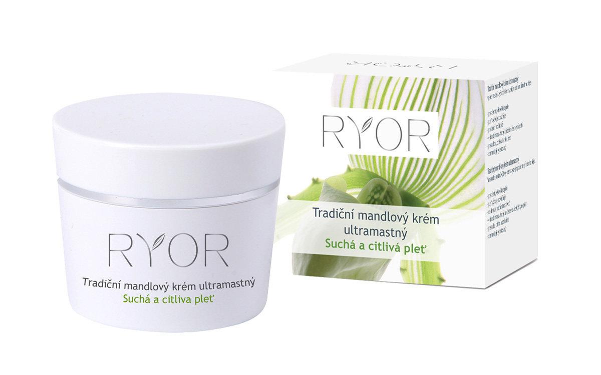 Traditional Almond Ultra-rich Cream by Ryor 50ml