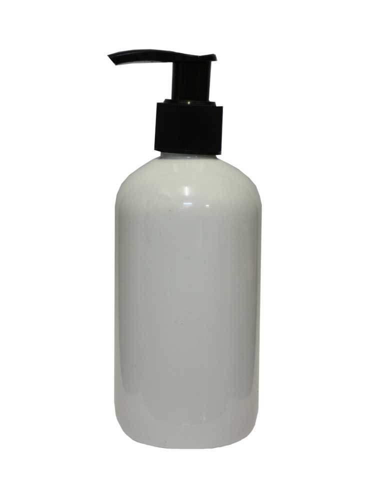 Μπουκάλι λευκό με αντλία 300 ml