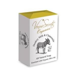Σαπούνι με γάλα γαϊδάρας και χαμομήλι από Venus Secrets Organics