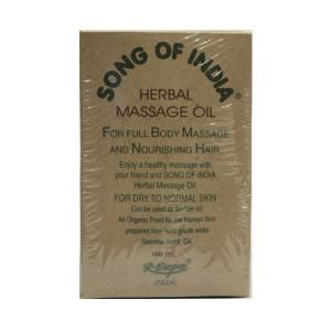 Herbal massage oil Song of India