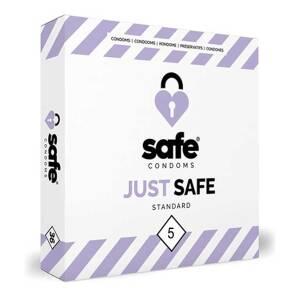 Standard 5 pack Safe Condoms