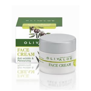 Face Cream Λιπαρή προς Κανονική OlivAloe 40ml