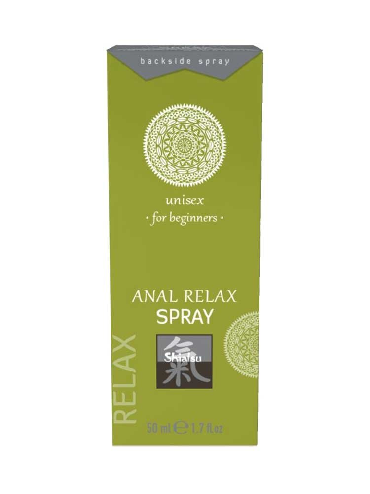 Anal Relax Spray 50 ml For Beginners by Shiatsu