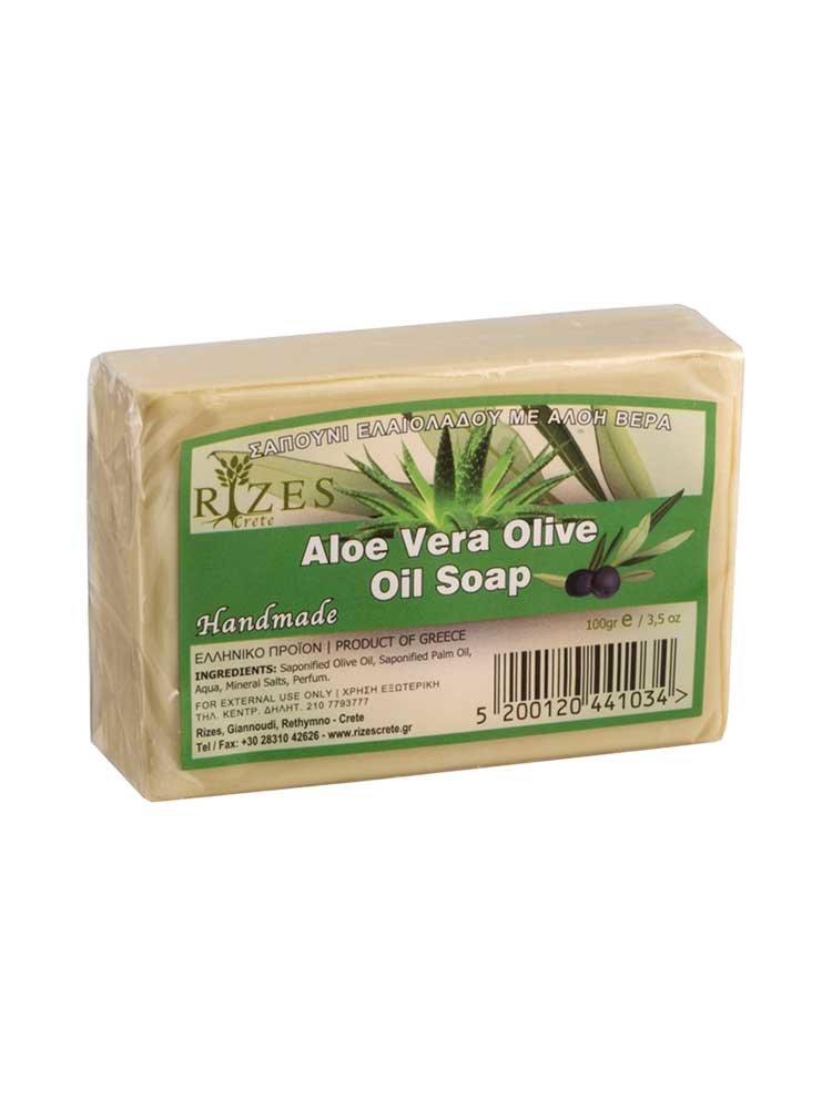 Aloe Vera Σαπούνι Ελαιολάδου από την Rizes Crete