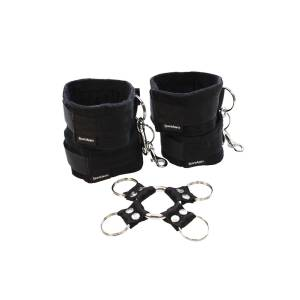5 Piece Hog Tie & Cuff Set by Sportsheets