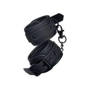 Blaze Luxury Fetish Handcuffs Black by Dream Toys