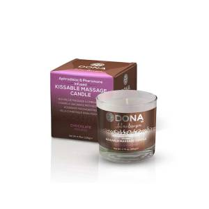 Chocolate Mousse Kissable Massage Candle 135gr by Dona