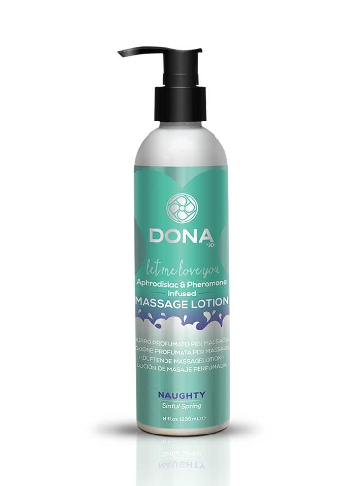 Naughty (Sinful Spring) Kissable Massage Lotion 235ml by Dona