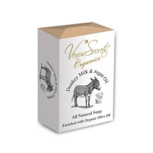 Σαπούνι με γάλα γαϊδάρας και έλαιο αργκάν από Venus Secrets Organics 150gr
