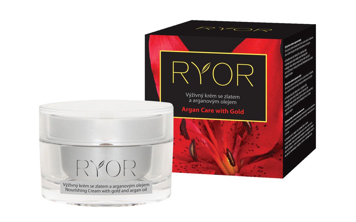 Θρεπτική κρέμα με χρυσό και αργκάν by Ryor