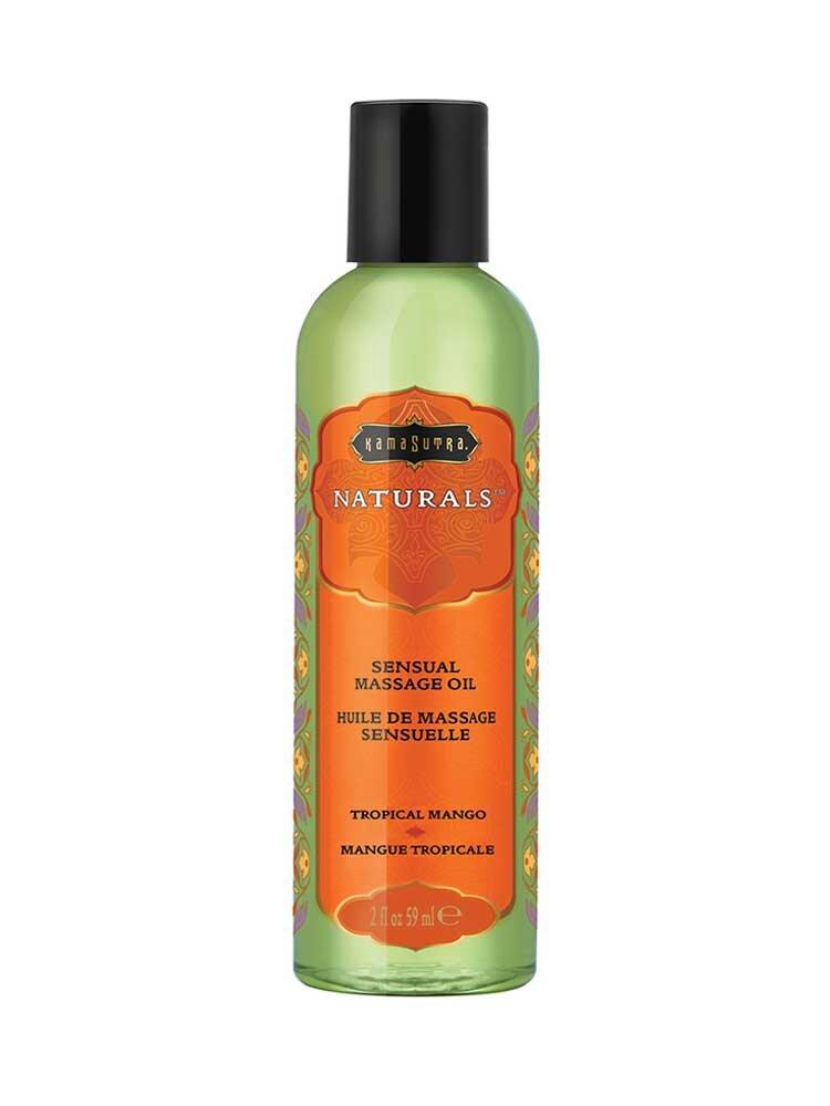 Λάδι Massage Tropical Mango 59ml - The Naturals by Kamasutra