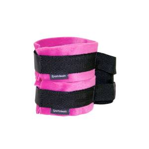 Kinky Pinky Cuffs with Tethers by Sportsheets