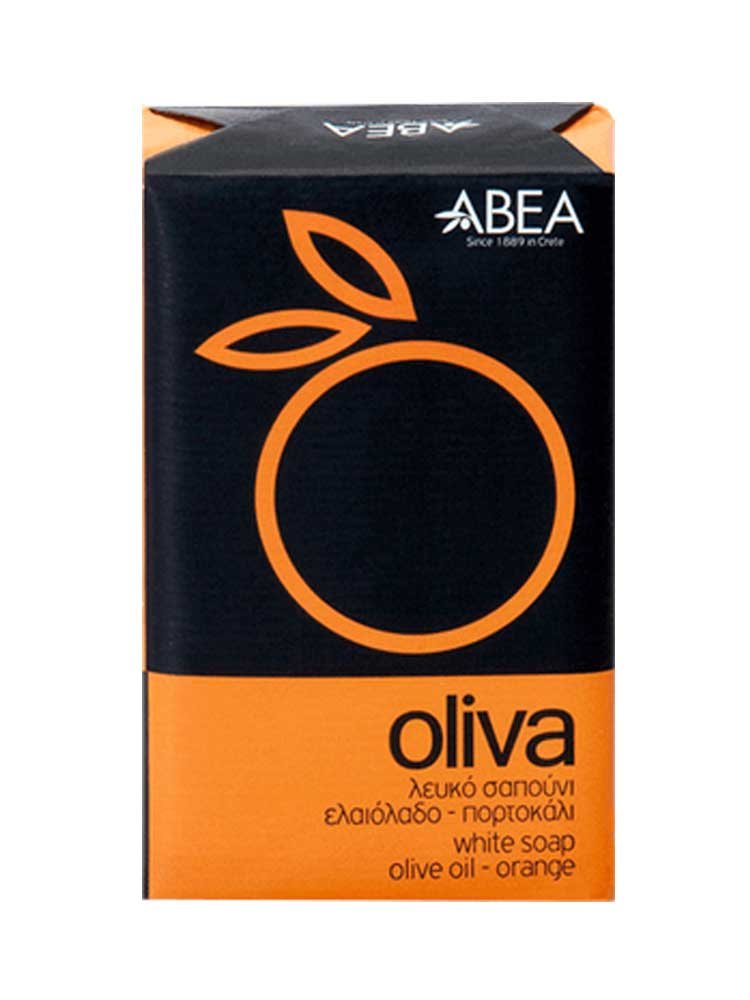 Λευκό σαπούνι ελαιολάδου με πορτοκάλι Oliva ΑΒΕΑ