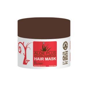 Μάσκα για ξηρά μαλλιά Aloe Plus