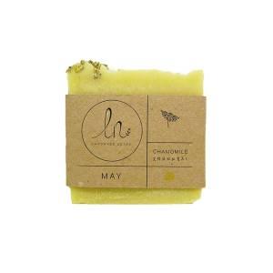 Μάϊος - Σαπούνι με Παπαρουνόσπορο 100gr από LN Handmade Soaps