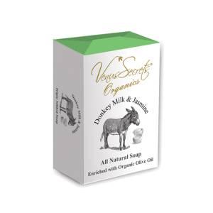 Σαπούνι με γάλα γαϊδάρας και γιασεμί από Venus Secrets Organics