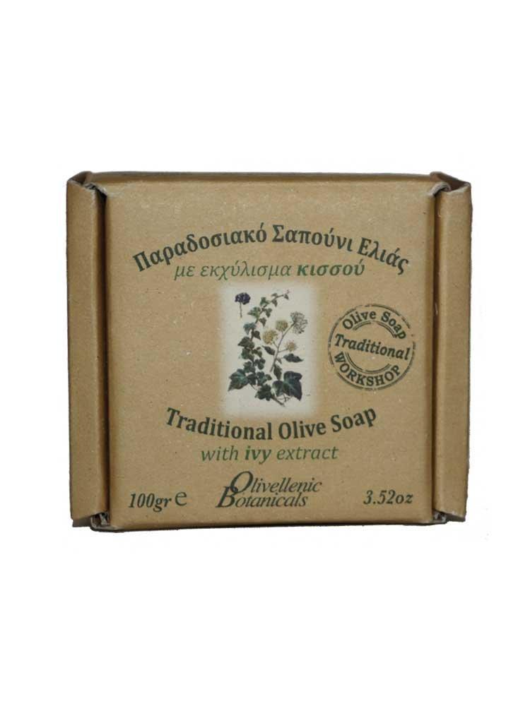Παραδοσιακό Σαπούνι με εκχύλισμα κισσού Olivellenic