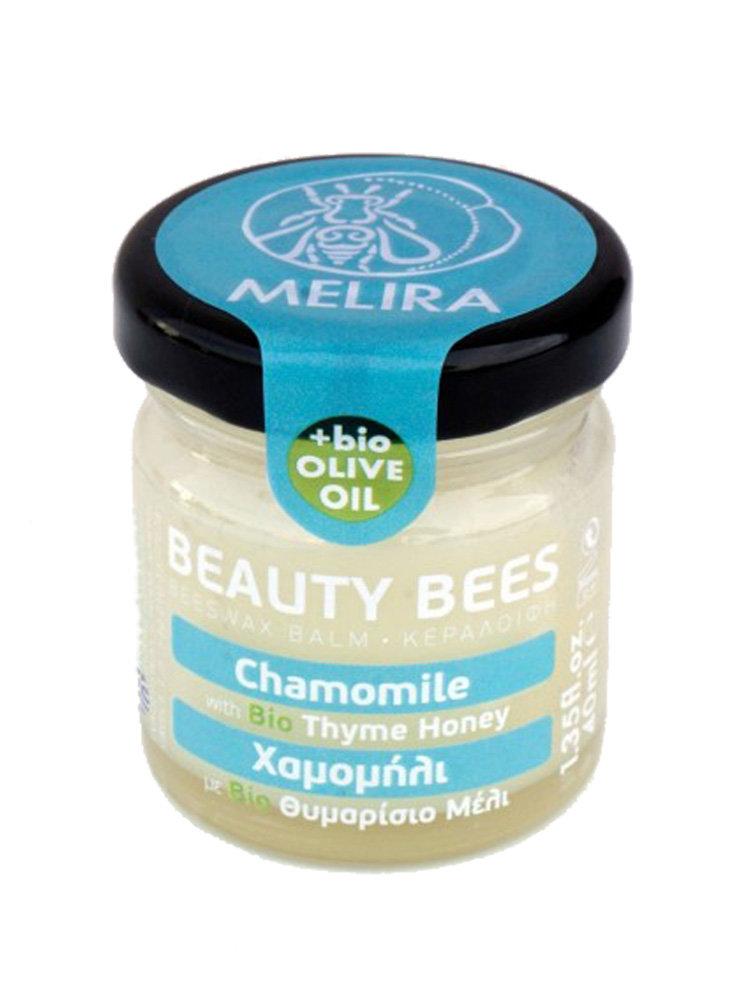 Κηραλοιφή με μέλι θυμαρίσιο και χαμομήλι by Melira