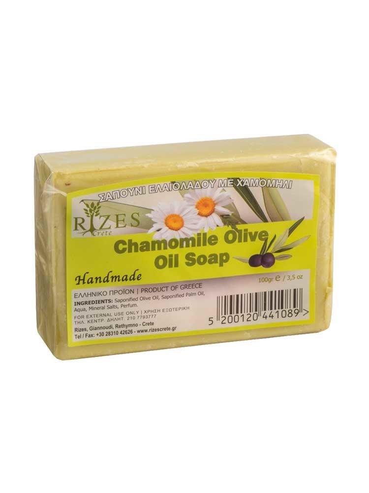 Χαμομήλι Σαπούνι Ελαιολάδου από την Rizes Crete