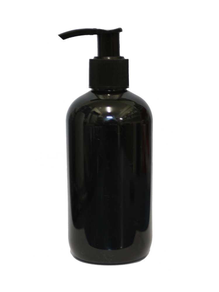 Μπουκάλι μαύρο με αντλία 300 ml