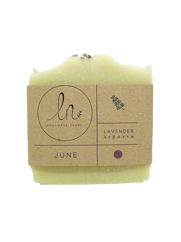 Ιούνιος - Σαπούνι με Λεβάντα 100gr από LN Handmade Soaps