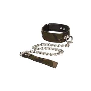 Colt Camouflage Collar and Leash by Calexotics
