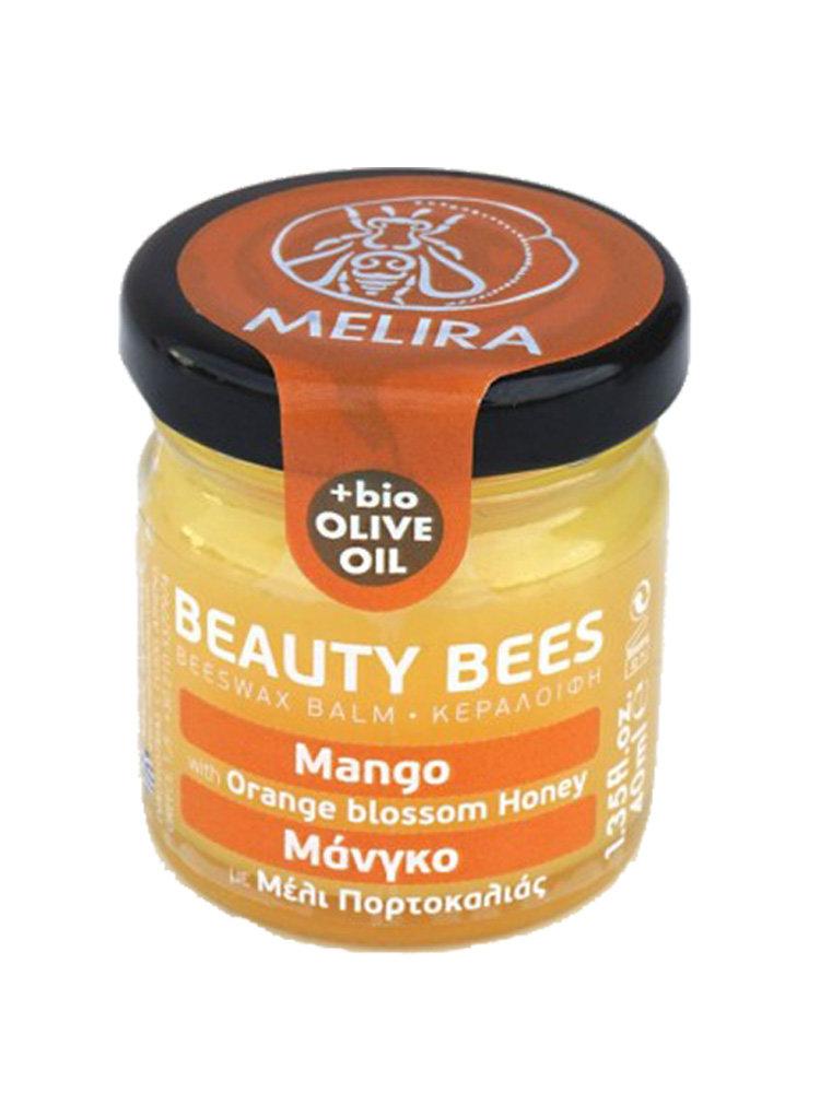 Κηραλοιφή με μέλι πορτοκαλιάς και μάνγκο από την Melira