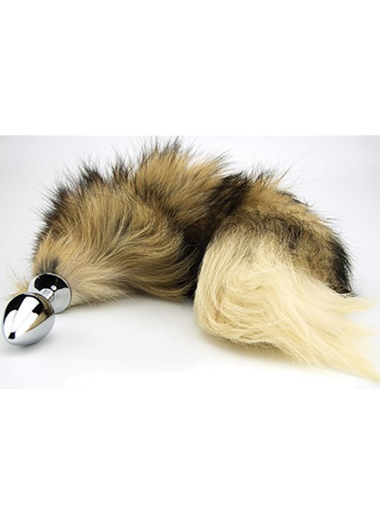 Red Fox Tail Butt Plug by Loving Joy