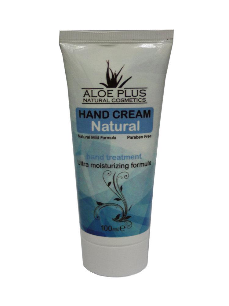 Κρέμα χεριών Natural από Aloe Plus