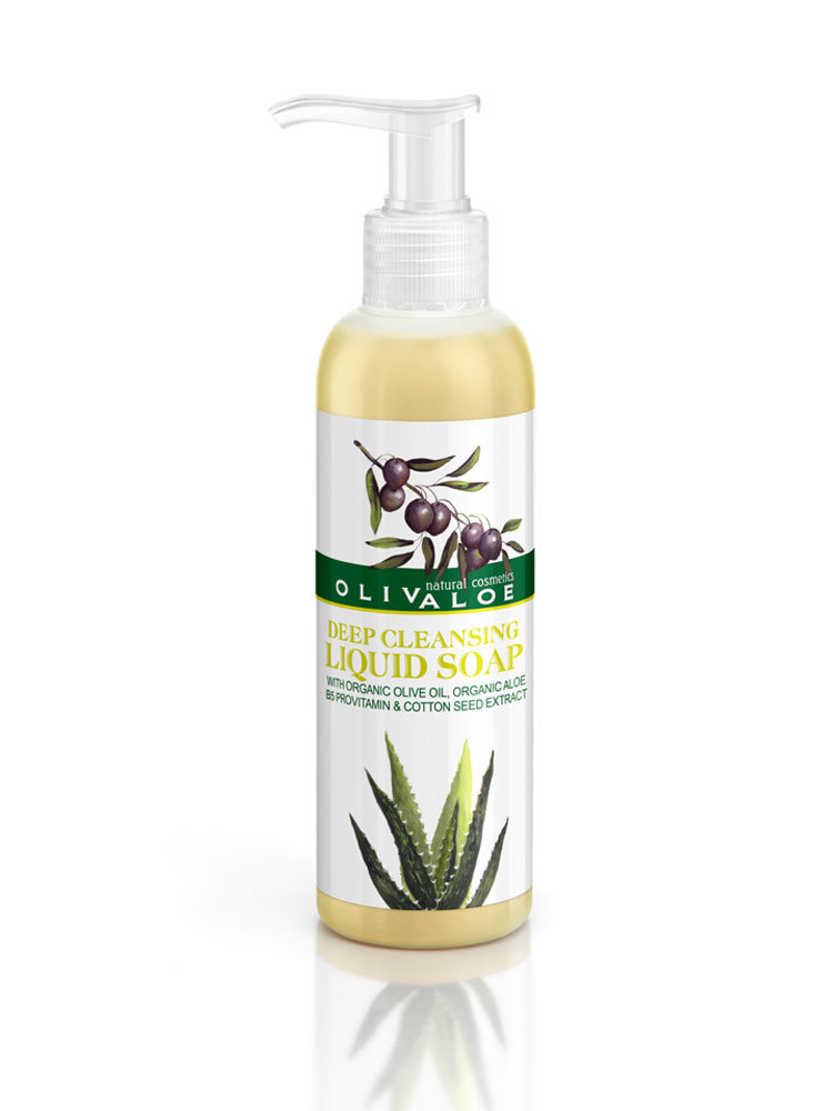Υγρό σαπούνι βαθύ καθαρισμού OlivAloe
