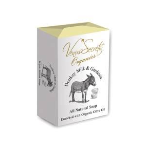 Σαπούνι με γάλα γαϊδάρας και γαρδένια από Venus Secrets Organics