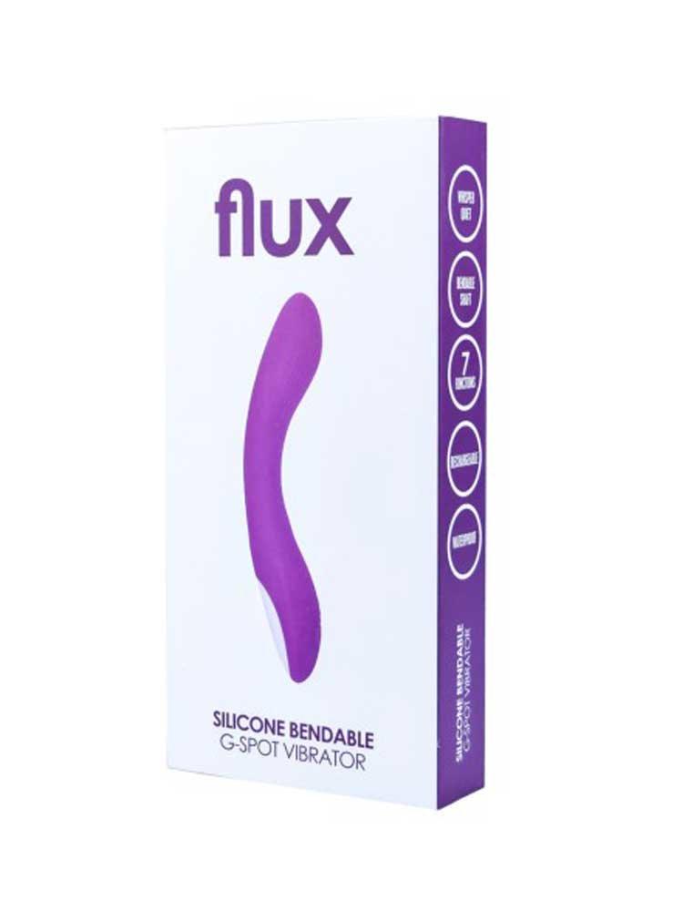 Flux Silicone G-Spot Vibrator by Loving Joy