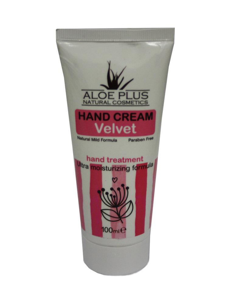 Κρέμα χεριών Velvet από Aloe Plus