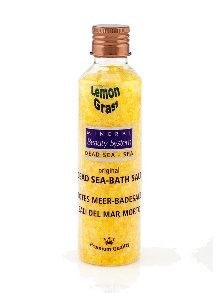 Aλατα μπάνιου από τη Νεκρά Θάλασσα με Λεμονόχορτο 150gr by Mineral Beauty System