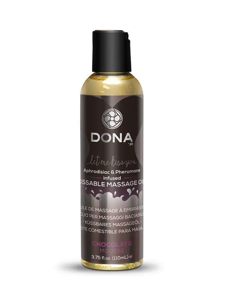 Chocolate Mousse Kissable Massage Oil 110ml by Dona