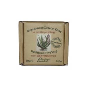 Παραδοσιακό Σαπούνι με εκχύλισμα αλόης Olivellenic