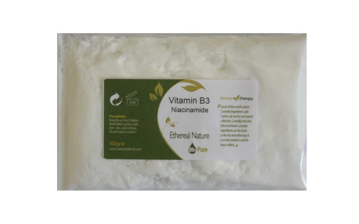 Βιταμίνη B3 (Nicotinamide / Niacinamide) 100gr