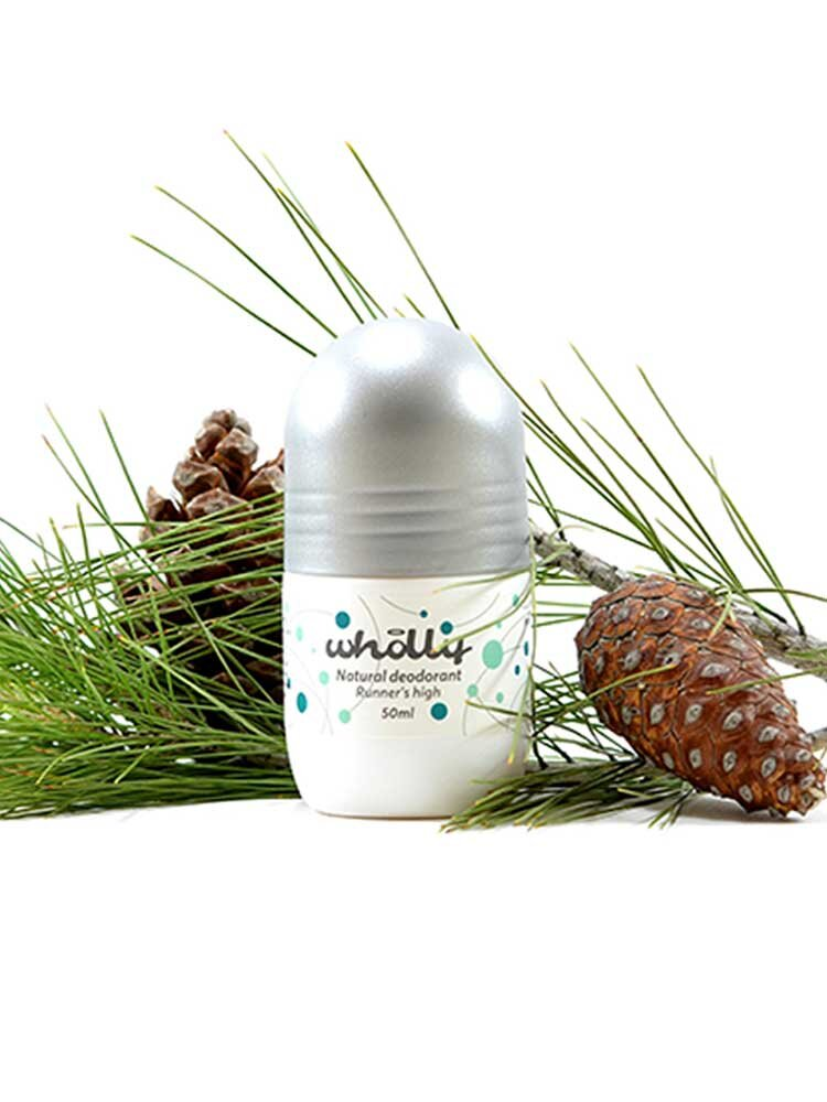 Natural Deodorant Runner's High 50 ml by Wholly