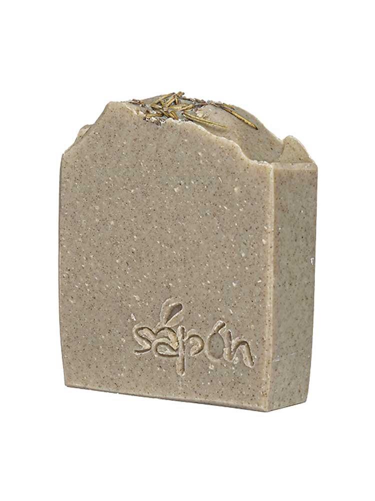 Σαπούνι με Λάσπη Νεκράς Θάλλασας και Φύκια 110gr by Sapon