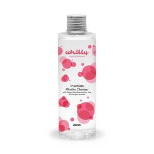 Rose Water Micellar Cleanser 200ml by Wholly