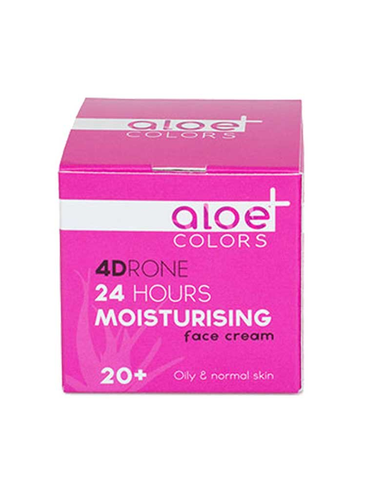 24ωρη κρέμα προσώπου Aloe+Colors (ηλικία 20+) by Aloe Plus