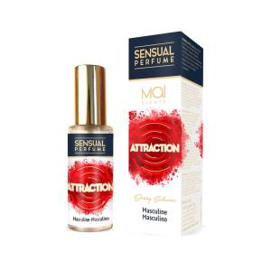 Masculine Perfume with Sensual Attraction 30ml by Mai Scents